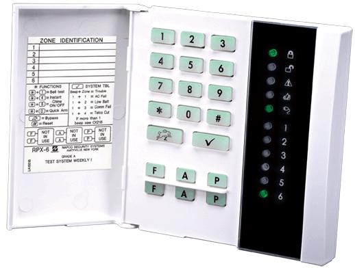 keypads napco security technologies rh napcosecurity com Napco Gemini User Manual napco p800 programming manual