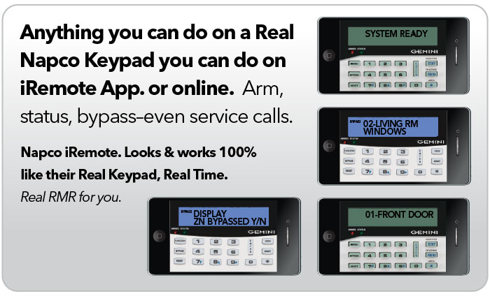 virtual keypads napco security technologies